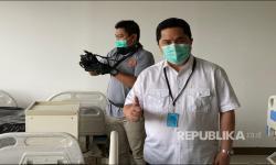 Menteri BUMN Kecam Warga yang Belanja Pakai Baju Hazmat