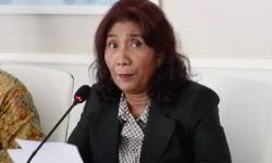 Susi: Kebakaran Kapal di Pelabuhan Benoa karena Arus Pendek