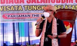 Syal Batik Sampan Jadi Cenderamata Baru di Pariaman