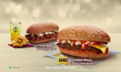 3 Burger Prosperity McDonald's Manjakan Lidah di Awal Tahun