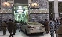 Pria Saudi Penabrak Mobil Pintu Masjidil Haram Ditangkap
