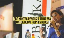 Pengusulan Najwa untuk Debat Pilpres Kedua