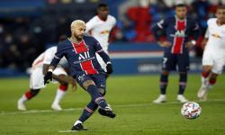 Gol Neymar Antar PSG Ungguli Leipzig pada Babak Pertama