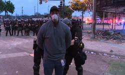 Polisi AS Tangkap Wartawan CNN Saat Siaran Live Demonstrasi
