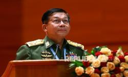 Inggris Jatuhi Sanksi Panglima Tertinggi Myanmar