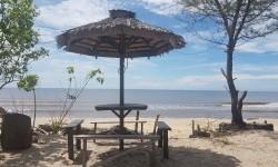 B1617 Ditemukan di Kotim, Pantai Ujung Pandaran Ditutup