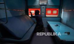 India Ubah Gerbong Kereta Jadi Ruang Isolasi Pasien Covid-19