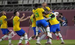In Picture: Brasil ke Final Usai Bekap Meksiko 4-1 Lewat Adu Penalti