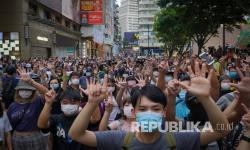 7Juru Kampanye Demokrasi Hong Kong di Penjara