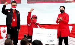 Kekompakan PDIP Saat Beri Penghargaan Atlet Paralimpiade