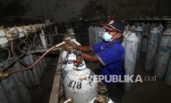 In Picture: Pemprov Kalbar Beli Oksigen Medis Dari Malaysia