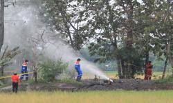 Pertamina EP Bantu Tangani Semburan Gas di Blora