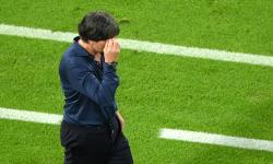 Pelatih kepala Jerman Joachim Loew selama pertandingan sepak bola babak penyisihan grup F UEFA EURO 2020 antara Jerman dan Hongaria di Munich, Jerman, 23 Juni 2021.