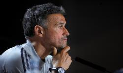 Pelatih kepala Spanyol Luis Enrique