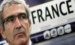 Pelatih Prancis Raymond Domenech.