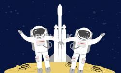 Infografis MIsi Bersejarah SpaceX dan NASA