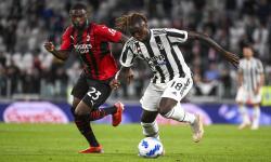 In Picture: AC Milan Bermain Imbang 1-1 Lawan Juventus