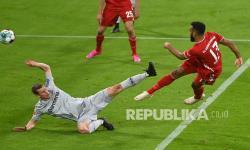 In Picture: Bayern Muenchen Bekap Leverkusen 2-0