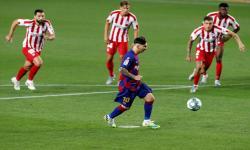 Rekor Gol Messi yang tak Cukup Bawa Barcelona ke Puncak
