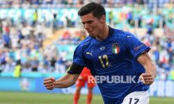 <em>Live</em>; Babak Pertama, Italia 1-0 Wales