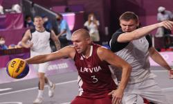Latvia Raih Emas 3x3 Putra Olimpiade Tokyo