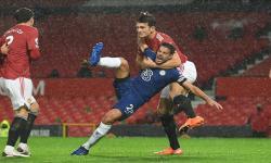 Imbang, Chelsea Kuasai Bola di Old Trafford di Babak Pertama
