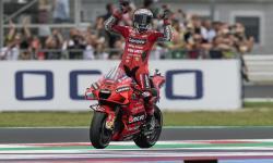 Bagnaia Rayakan Kemenangan Sempurnanya di GP San Marino