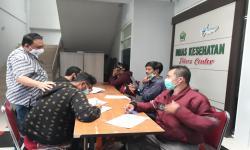 Pemkot Fasilitasi Tes Usap Puluhan Jurnalis di Kota Malang