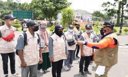 BNPB Inisiasi Gerai Masker di <em>Venue</em> PON XX Papua