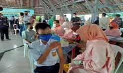 Capaian Vaksinasi Sukabumi Tertinggi Kedua di Jabar