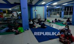Ratusan Sopir dan Kernet Truk Barang di Lampung Tes Antigen