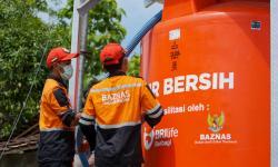BRI Life-Baznas Salurkan Air Bersih untuk Warga Gunungkidul