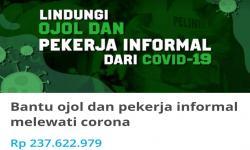 Via <em>Kitabisa.com</em>, Relawan Kumpulkan Rp 237 Juta untuk Ojol
