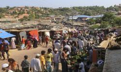Kematian Pertama Akibat Covid-19 di Kamp Rohingya