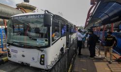 Transjakarta Belum Tentukan Tarif Bus Listrik
