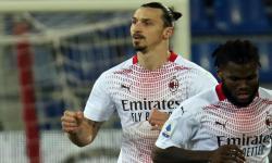 Dua Gol Ibrarahimovic Bawa Milan Taklukkan Cagliari