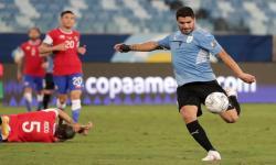 Suarez Senang Kinerja Uruguay Lawan Cile, tapi...