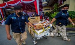 In Picture: Satresnarkoba Polresta Banjarmasin Tangkap Sindikat Narkoba