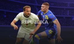 Perempat Final UERO 2020, Inggris vs Ukraina