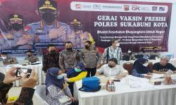 Perbarindo dan LPS Gelar Sentra Vaksin di Kota Sukabumi