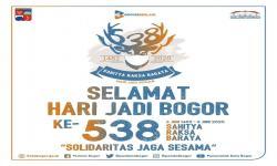 HUT Ke-538 Kota Bogor Diperingati Secara Virtual