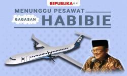 Jumlah Pesanan Pesawat Habibie Sudah 130 Unit