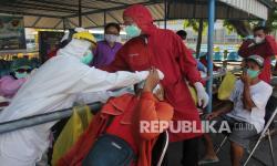Surabaya Masifkan Tes Covid-19 di Pasar dan Sentra PKL