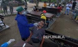 In Picture: Antisipasi Kasus Varian Baru Covid-19 di Denpasar