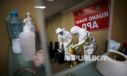 Ruang Isolasi Pasien Covid-19 di Tangerang <em>Overload</em>
