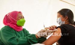 Tribun Stadion Singaperbangsa Karawang Jadi Lokasi Vaksinasi