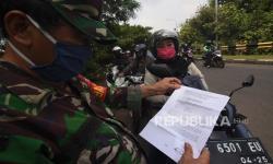Polri: Masuk DKI Jakarta Wajib Lengkapi SIKM