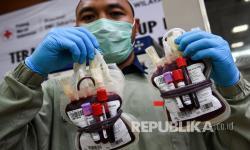 In Picture: Stok Darah PMI DKI Berkurang Berkurang Hingga 90 Persen