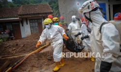 Korban Tewas Akibat Longsor di Sumedang Capai 28 Orang