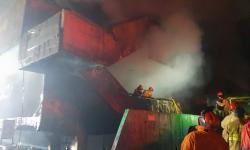 Kebakaran Pasar Impres di Pasar Minggu, 392 Kios Hangus